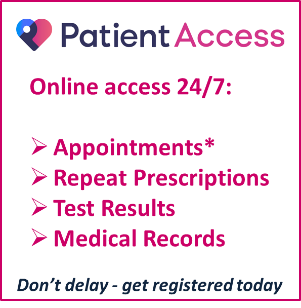 Patient Access | Montgomery-House Surgery